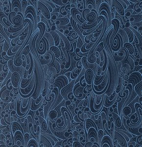 END OF BOLT 21 x WOF  - True Colors - Making Waves in Navy by Tula Pink for Free Spirit Fabrics sku:PWTC030.NAVYX