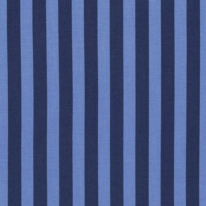 Tabby Road - Tent Stripe in Blue Bird by Tula Pink for Free Spirit Fabric sku:PWTP069.BLUEB