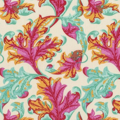 Tabby Road - Eek in Strawberry Fields by Tula Pink for Free Spirit Fabric sku:PWTP093.STRAW