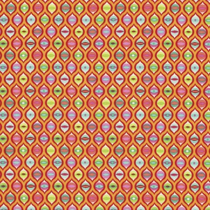 Tabby Road - Cat Eyes in Strawberry Fields by Tula Pink for Free Spirit Fabric sku:PWTP095.STRAW