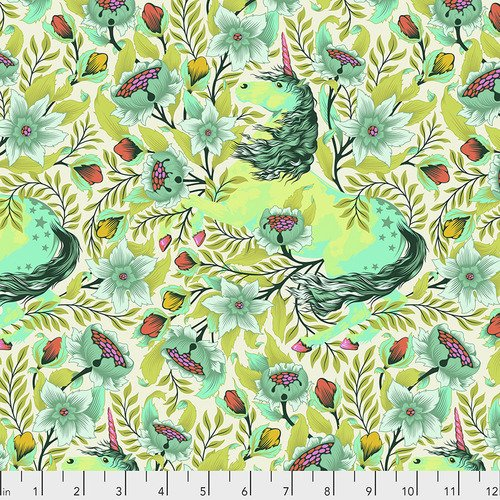 Pinkerville - Imaginarium in Frolic by Tula Pink for Free Spirit Fabrics