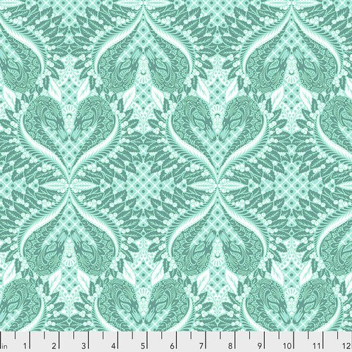 Pinkerville - Gate Keeper in Frolic by Tula Pink for Free Spirit Fabrics