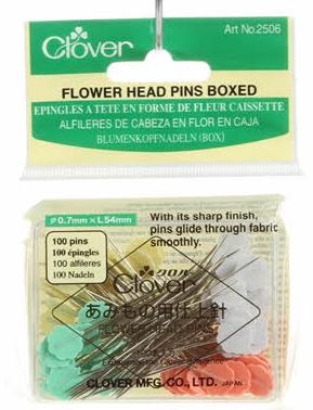 Flower Head Pins - Size 32-2in - 100Ct.