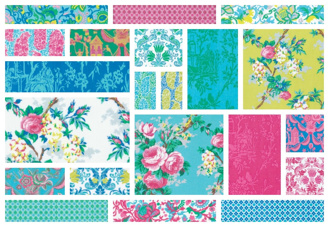 Sunny Isle - Fat Quarter Bundle 21 pieces