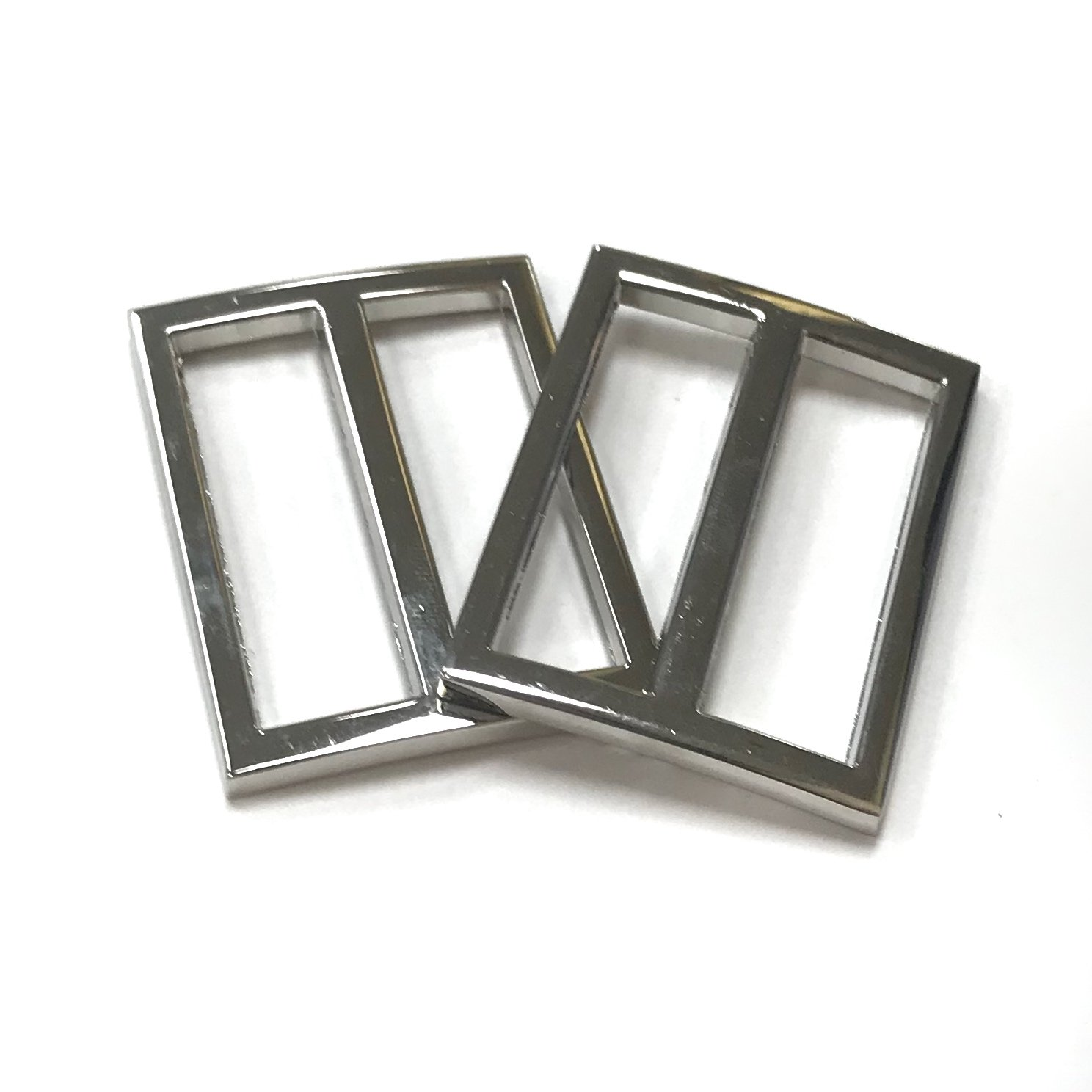 Rectangle Strap Slides- Set of 2 - 1 1/4