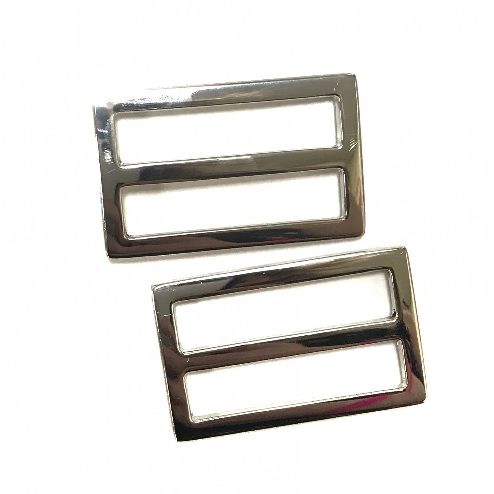 Rectangle Strap Slides- Set of 2 - 1 1/2