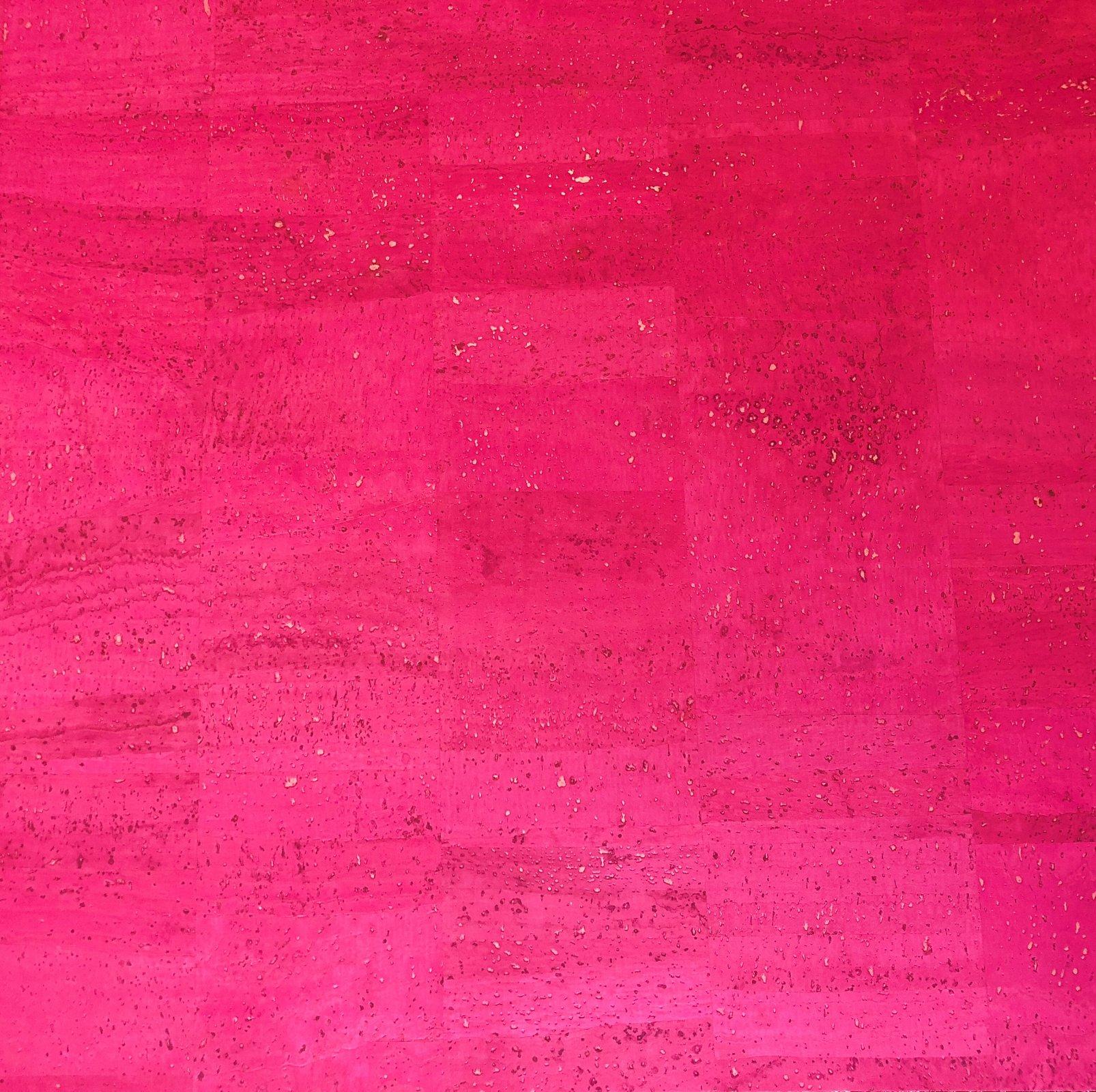Surface Fuchsia Cork Fabric