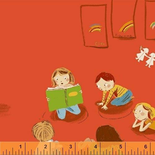 Kinder Kindergarten Red