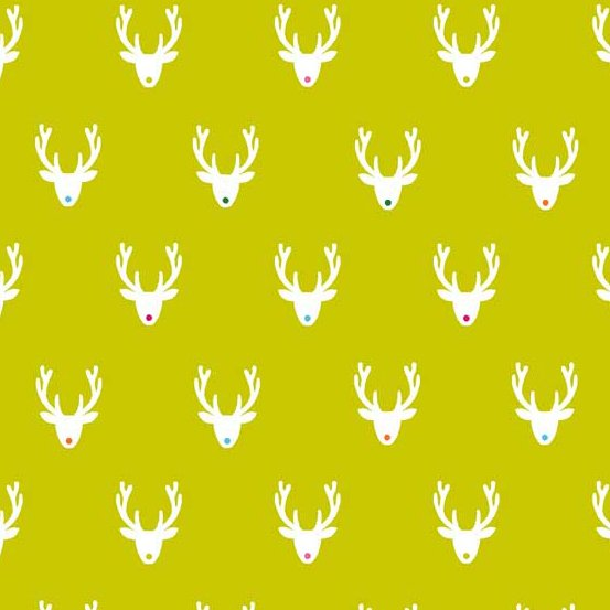 Joyeux Green Reindeer