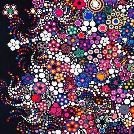 Effervescence Digital Circles Bright