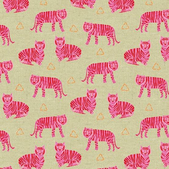 Tiger Plant Tigers in Fuschia