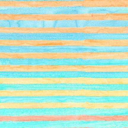 Aritsan Batiks Elementals Capri Pastels Lines Stripes