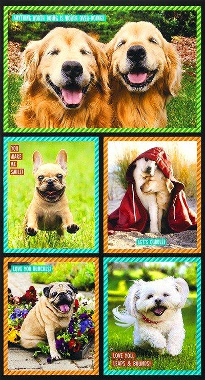 36) I Ruv You Sweet Dogs Digital Panel 24