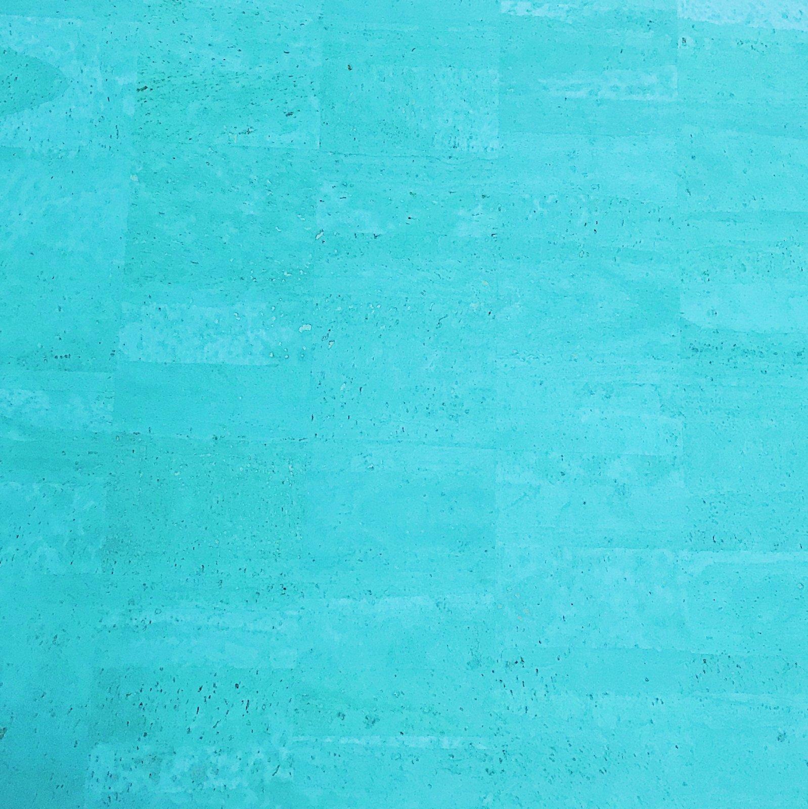 Surface Ocean Blue Cork Fabric