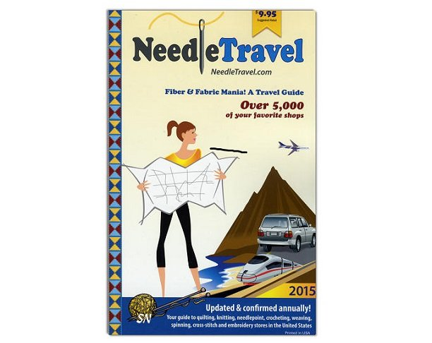 Needle Travel - You can find all your favorie shops in one compact book!