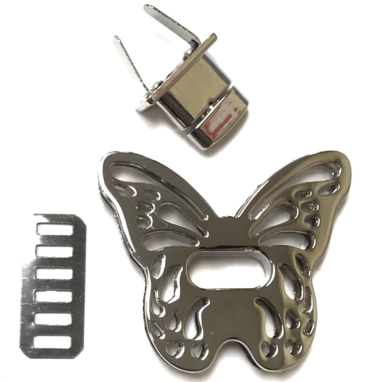 Butterfly Twist Lock - Silver