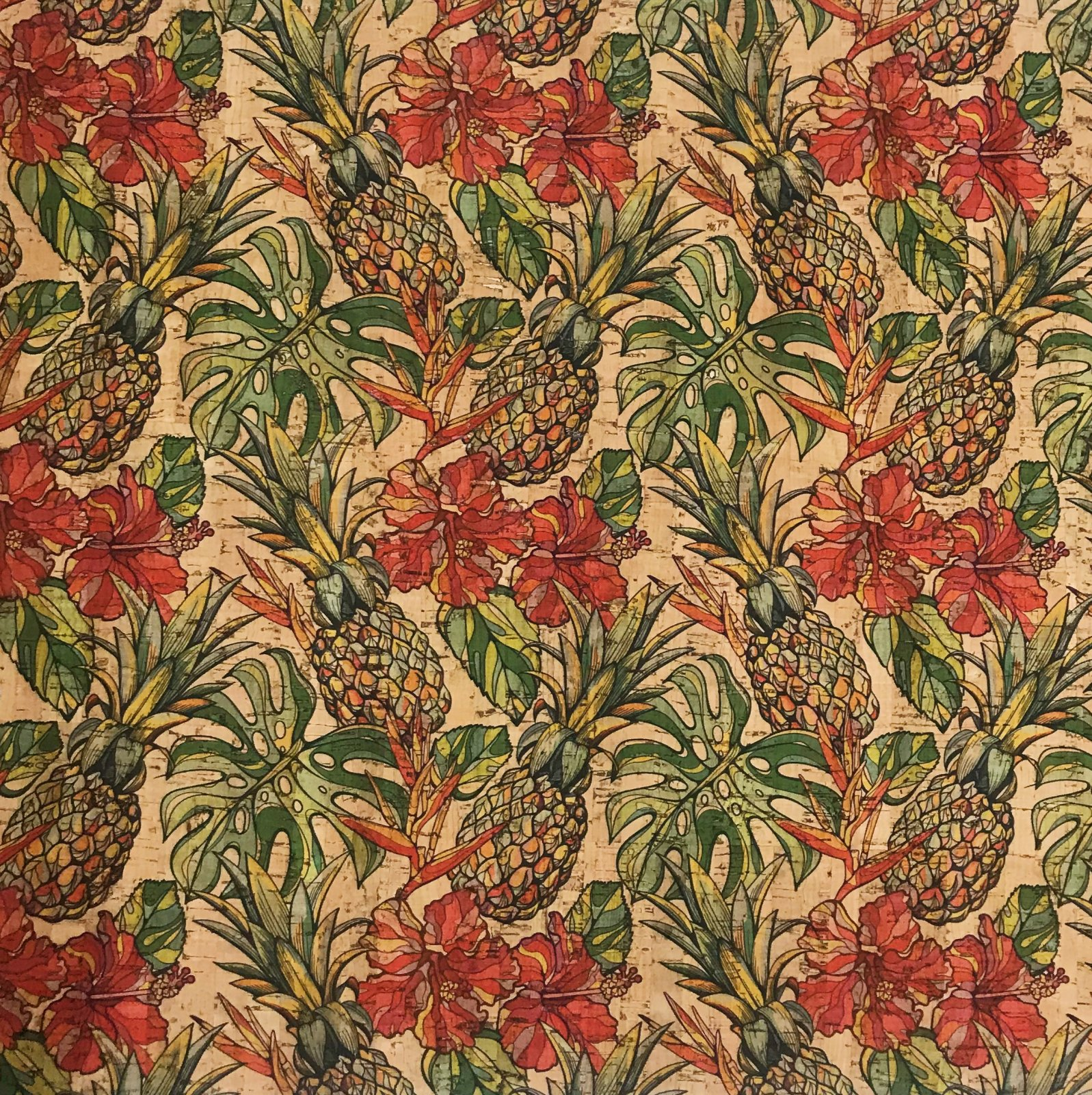 Pineapple Cork Fabric