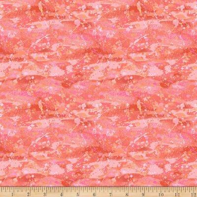 Flamingo Water Bubbles Orange