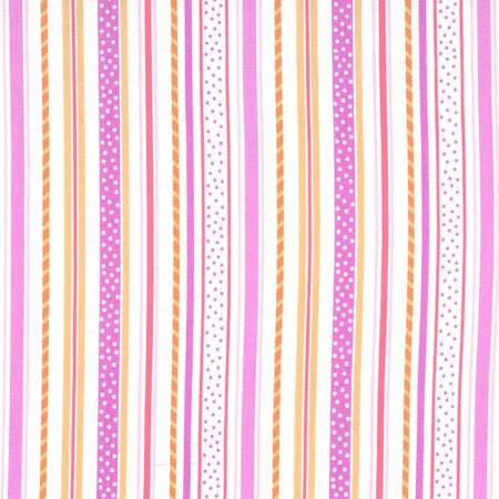 Sherbert Straws & Sprinkles Stripes Pink Purple