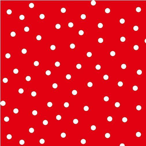Joie de Vivre - Red Dotted