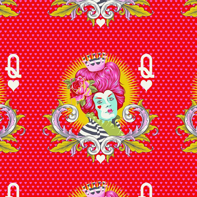 The Red Queen - Wonder Curiouser & Curiouser