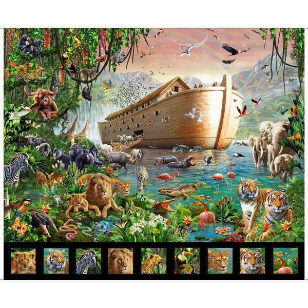Artworks Xiv NOAH'S ARK PANEL MULTI