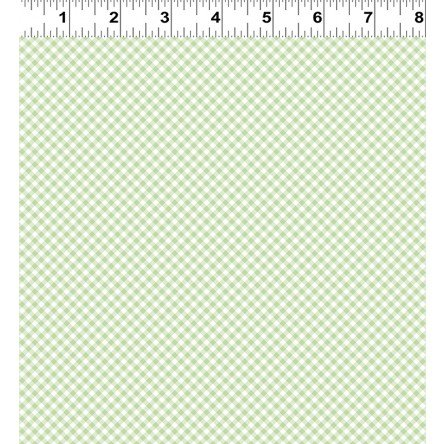 Daisy Light Olive Plaid