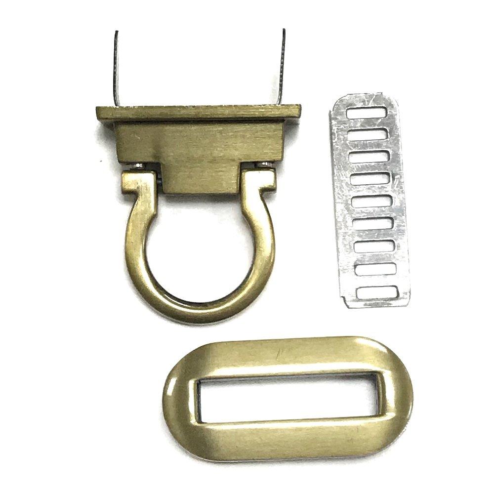 Loop Twist Lock- Antique Bronze