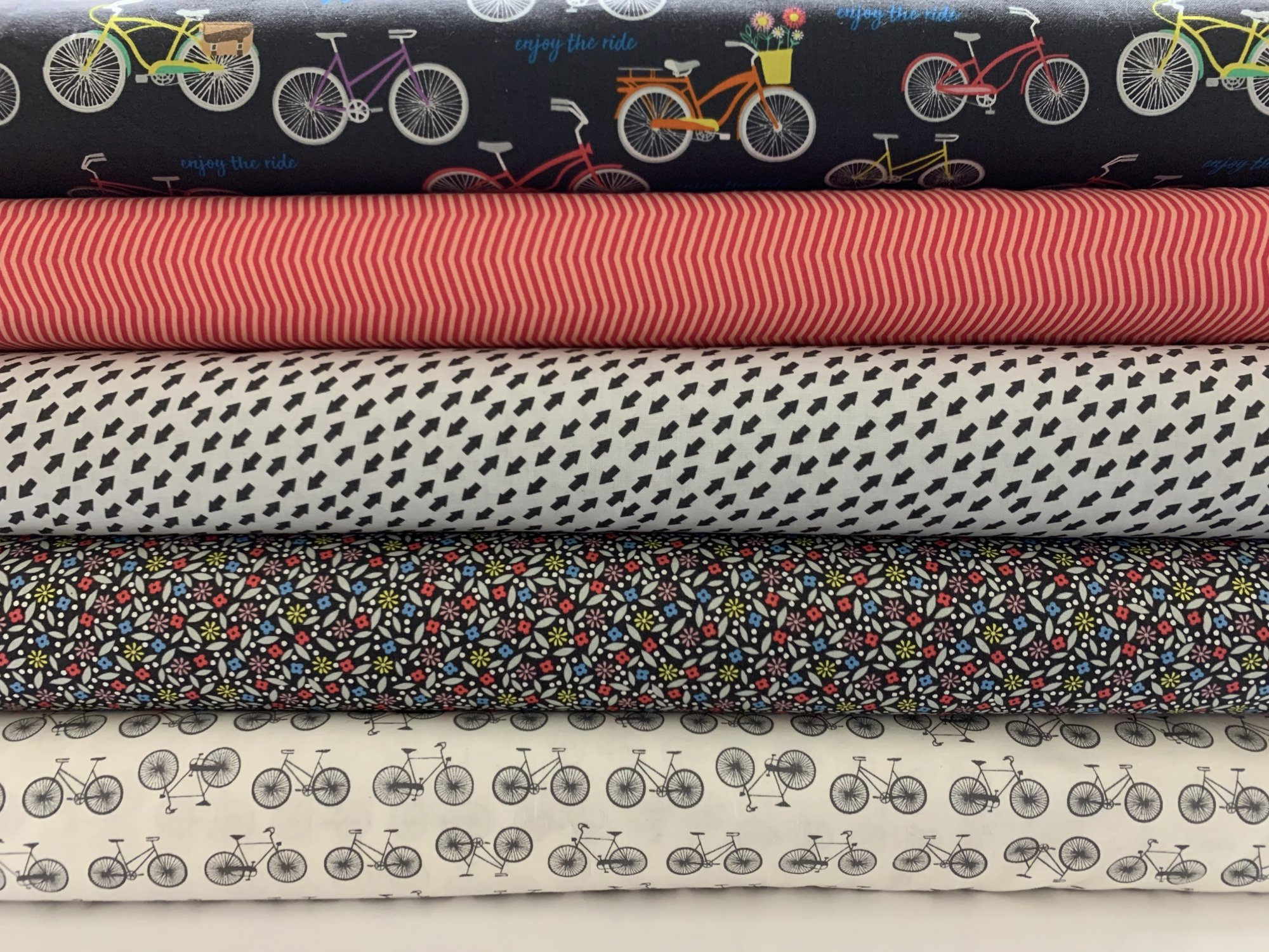 Bundle of Enjoy the Ride Fabric