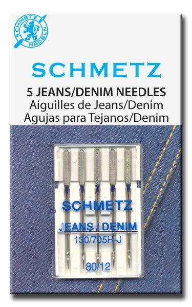 Schmetz 1781 Machine Needles Denim 80/12