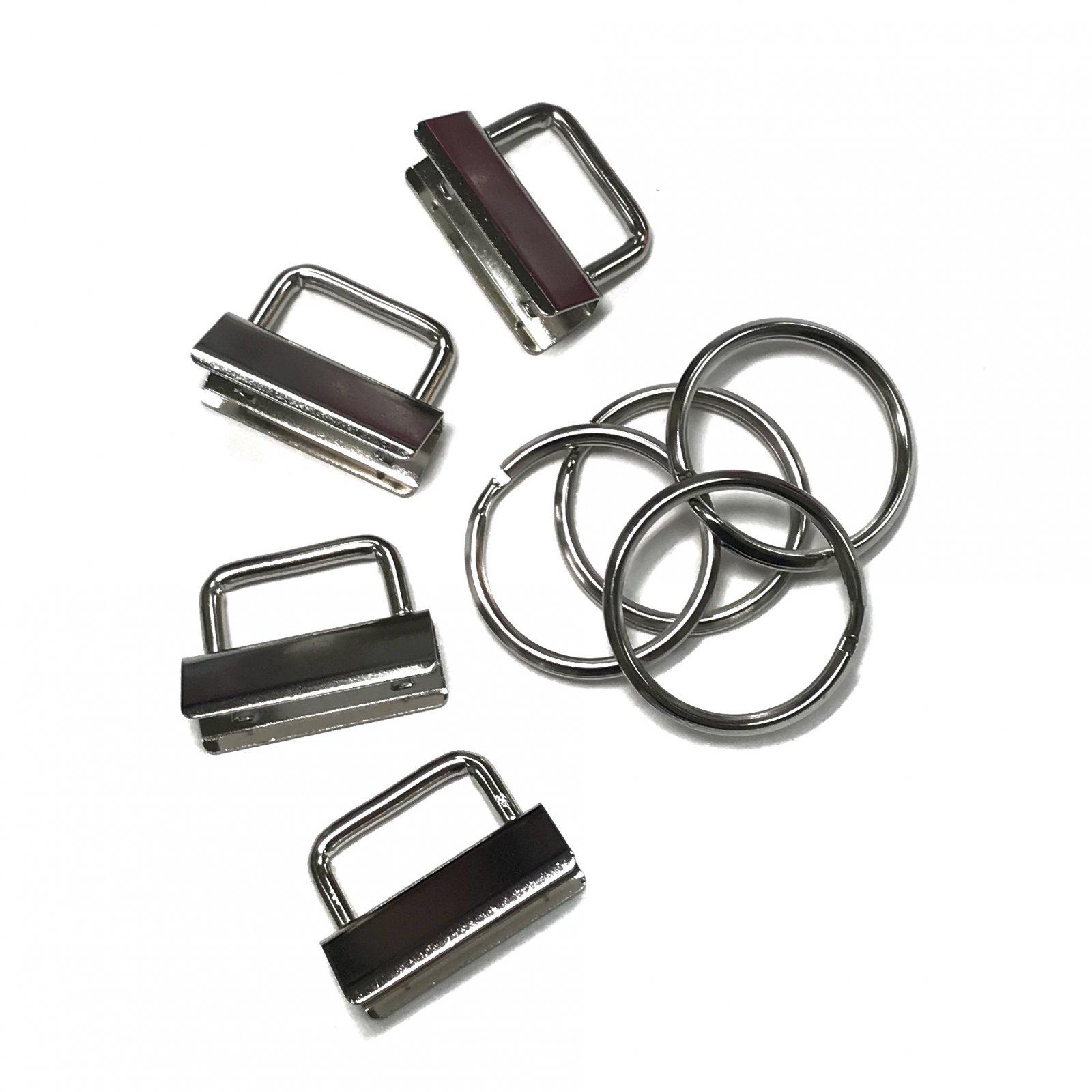 Key Fob Hardware- Silver