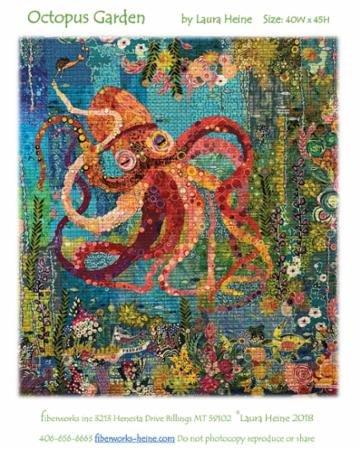 Octopus Garden Laura Heine Fiberworks