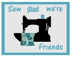 Sew Glad We're Friends Mug Rug Kit
