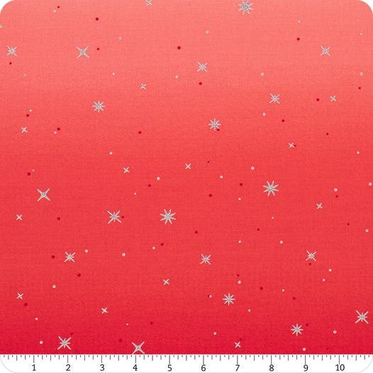 Ombre Fairy Dust Cherry Red