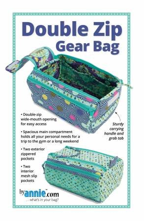 Double Zip Gear Bags