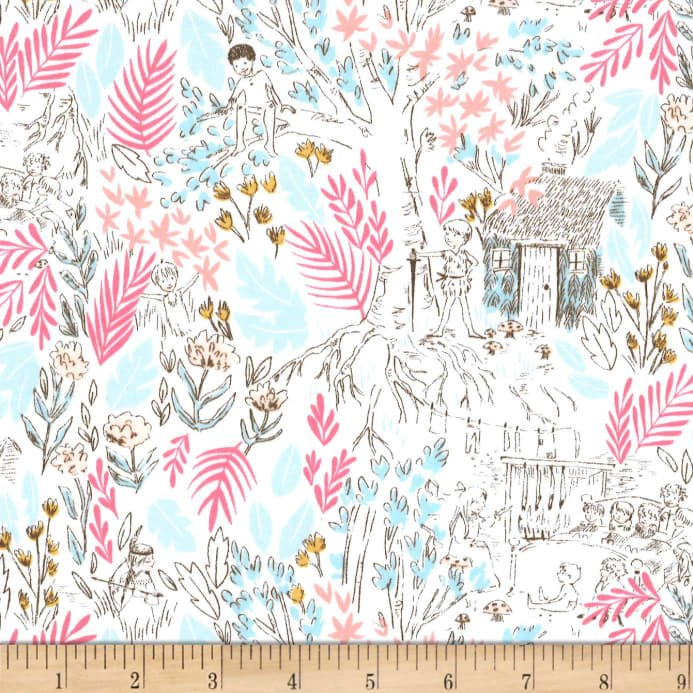 The Little House On Knit Jersey Stretch