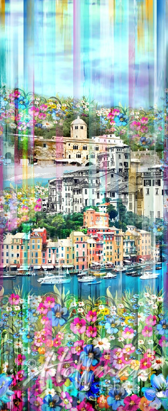 52) Wanderlust - Venice Blossom panel
