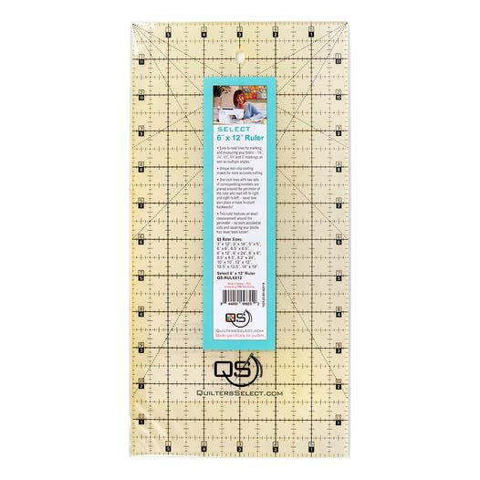 Quilters Select 6x12 inch Ruler
