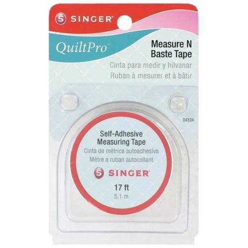 QuiltPro Measure N Baste Tape-17 Feet