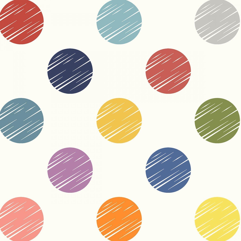 Multi Color Dot Backing 108