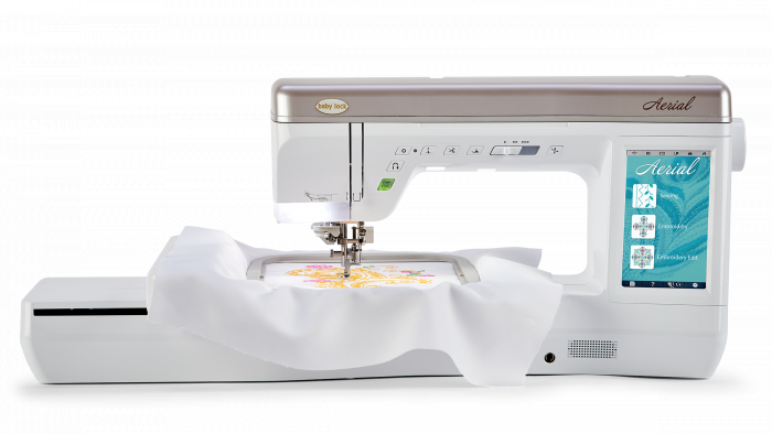 Aerial Embroidery & Sewing Machine