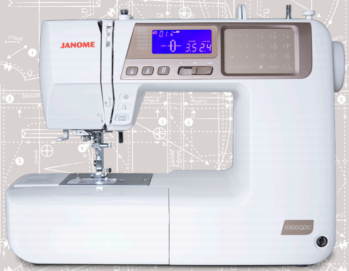 5300QDC Janome Sewing Machine