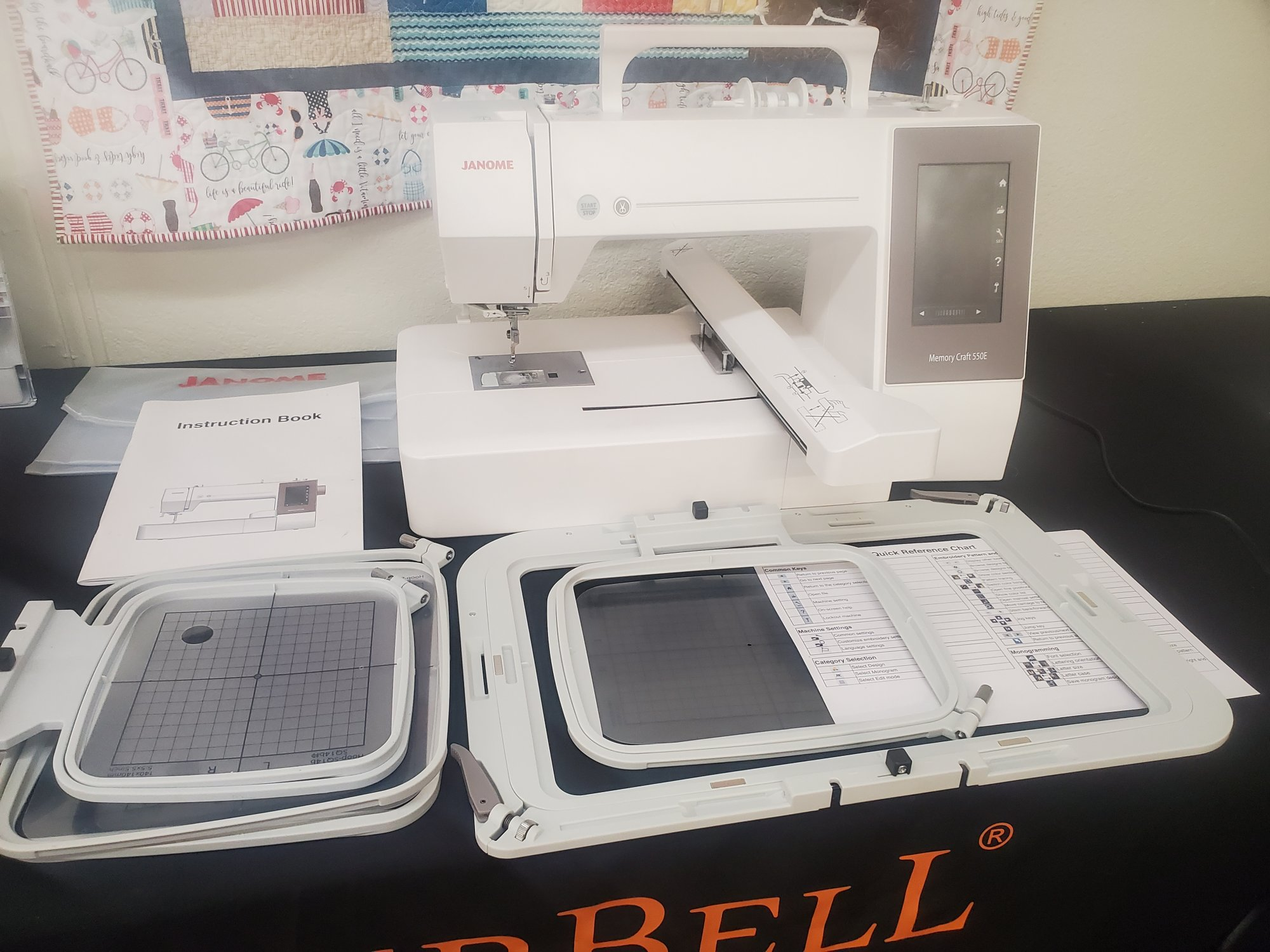 Janome 550e Embroidery Only