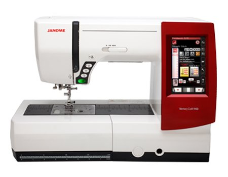 Memory Craft 9900 Sewing/Embroidery Machine