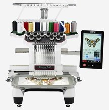 PR1050X 10 Needle Embroidery Machine