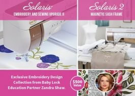 Solaris Embroidery & Sewing Upgrade II