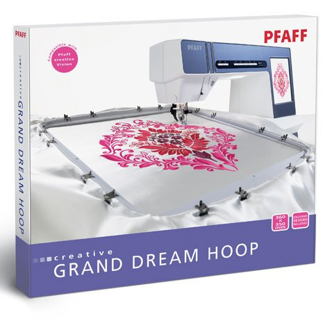 Pfaff Embroidery Hoop - Creative Grand Dream  - 360mm x 350mm