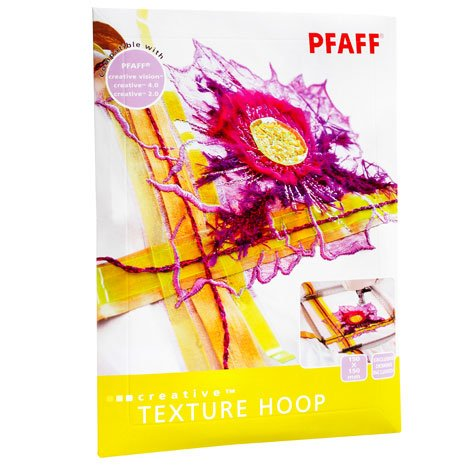 Pfaff Embroidery Hoop - Creative Texture - 150mm X 150mm (6 X 6)