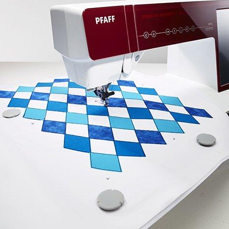 Pfaff Embroidery Hoop - Grand Metal Hoop - 240mm X 150mm