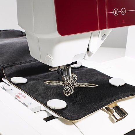Pfaff Embroidery Hoop - Creative Petite Metal Hoop - 100mm X 100mm